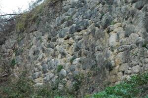 terrazzamento inferiore Castellacciio